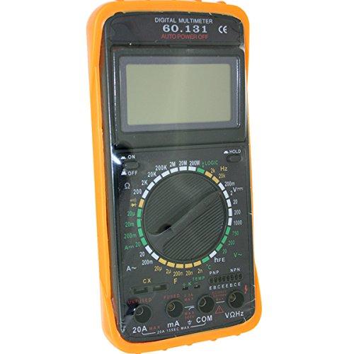 ElectroDH 60131 DH MULTIMETRO Digital con MEDIDOR DE Frecuencias