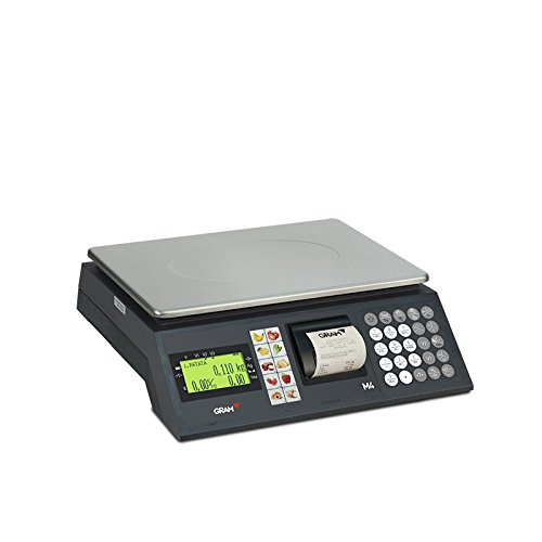 Balanza Comercial Gram M4 con impresora: Amazon.es: Hogar