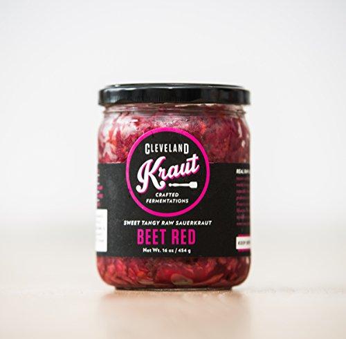 Cleveland Kraut Sauerkraut 4-pack (Beet Red Sauerkraut)
