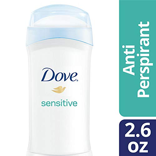 Dove Antiperspirant Deodorant, Sensitive Skin, 2.6 Ounce