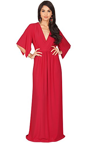 one sleeve red dress - 7