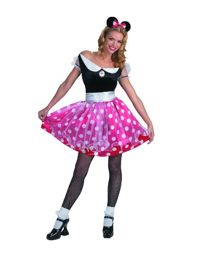 Disguise Women's Disney Minnie Mouse Deluxe Costume