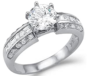 Solid 14k White Gold Solitaire Cz Cubic Zirconia. Star Hollywood Engagement Rings. Mystical Wedding Rings. Celebrity Gold Rings. Comfort Wedding Rings. Artsy Engagement Rings. Rich Engagement Rings. Sovereign Rings. Wife Jason Aldean Wedding Rings