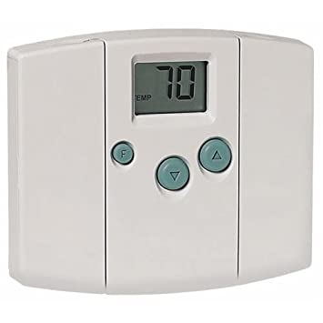 41wX5RGg sL._SY355_ hunter 42999 just right digital thermostat nonprogrammable hunter thermostat 42999b wiring diagram at gsmx.co