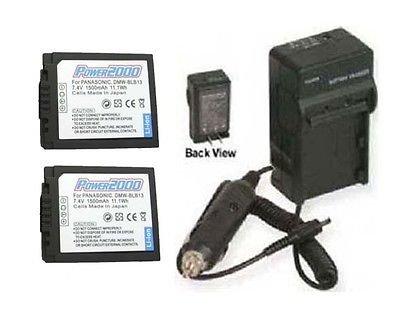 2つ2電池+充電器for Panasonic gf1、Panasonic dmc-gf1 C dmc-gf1 C-k、Panasonic dmc-gf1 K B01DLNK7QE