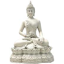 Bellaa 27017 Thai Buddha Statue Meditating Peace Harmony