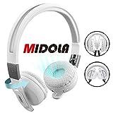 MIDOLA Sports Bluetooth Headphones Wireless Wired On-Ear Foldable Portable Durable Adjustable Lightweight,