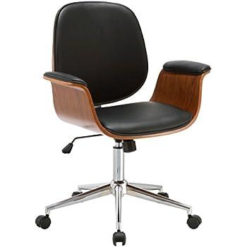 Amazon Com Armen Living Lcjuofchbl Julian Office Chair In