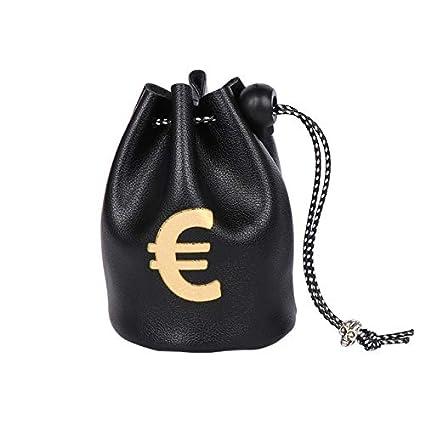 RQWY Monedero Creativo USD Dólar GBP Esterlina EUR Símbolo ...