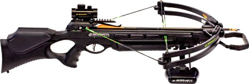 Barnett Wildcat C5 Black Crossbow Package (Quiver, 3 - 20-Inch Arrows and Premium Red Dot Sight) by Barnett (Image #3)