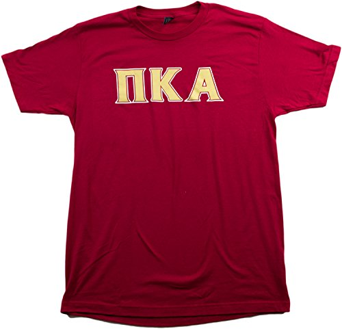 Pi Kappa Alpha (PIKE) | Licensed Greek Unisex Fitted Men's Cardinal T-shirt