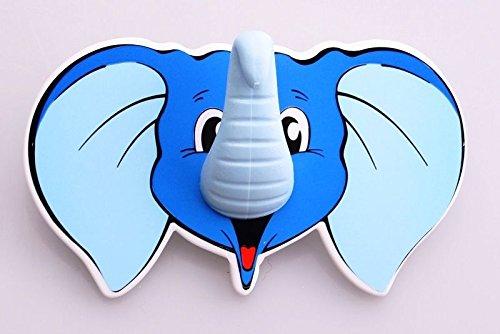 De Plastik Children's Hook - Wall Hook - Coat Hook with Elephant Theme 11923.111.934