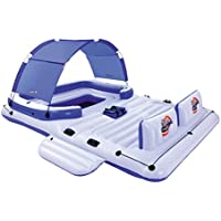 Bestway CoolerZ Tropical Breeze 6-Person Floating Island Lounge
