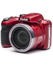"Kodak AZ421-RD PIXPRO Astro AZ421 16 MP Digital Camera with 42X Optical Zoom and 3"" LCD Screen (Red)"