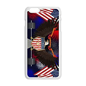 US flag and eagle sign Cell Phone Case for Iphone 6 Plus
