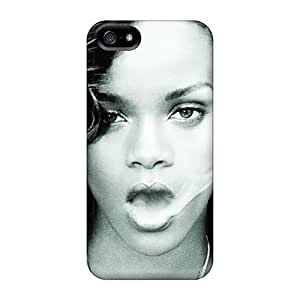 Protective Cell-phone Hard Cover For Iphone 5/5s (Jwg19503MiSk) Support Personal Customs High-definition Rihanna Series
