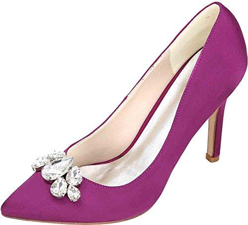 Zeppa Cfp Sandali Donna Purple Con SET8qxT6