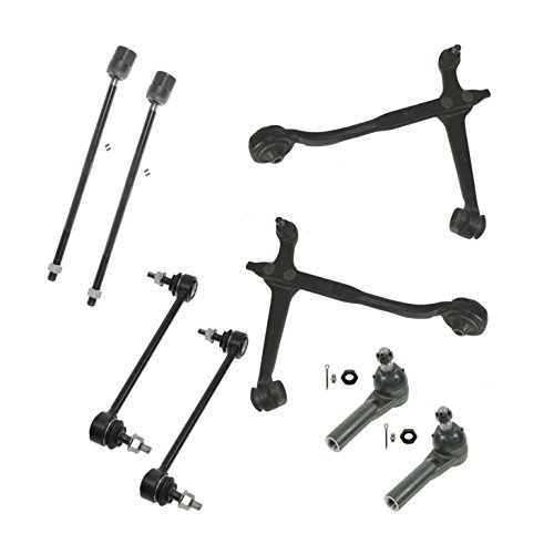 Front Tie Rods Sway Links Control Arms Suspension Kit Set of 8 for Ford Windstar