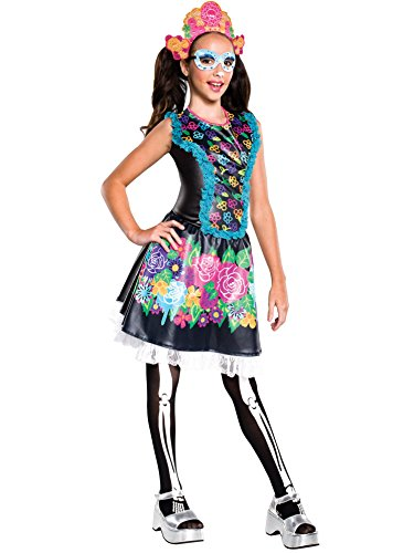 Rubie's Costume Monster High Collector Series Skelita Calaveras Child Costume, (Calaveras Costume)