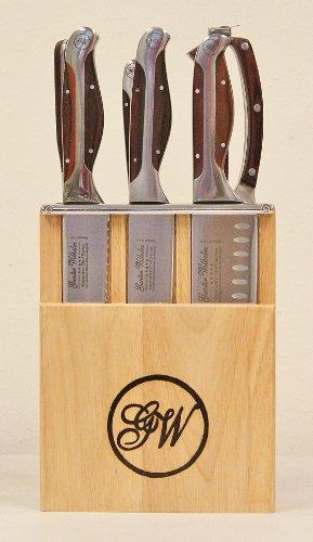 Gunter Wilhelm Executive Chef Series (7 Piece Mini Knife Block Set) - Executive Chef Series