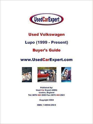 Ebook free prime used volkswagen lupo buyers guide 1999 used volkswagen lupo buyers guide 1999 present fandeluxe Gallery
