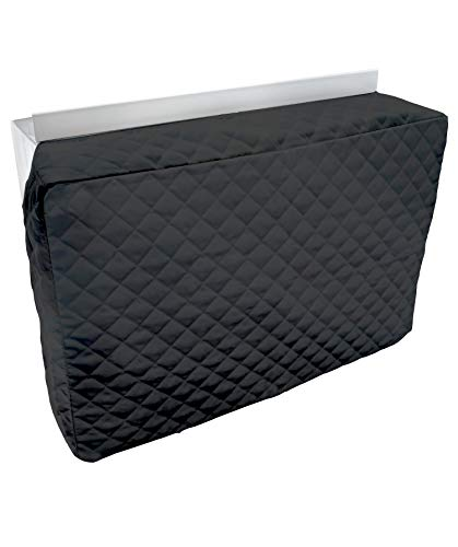 Sturdy Covers Indoor AC Cover Defender - Insulated Indoor Air Conditioner Unit Cover (Black, 14 x 21...