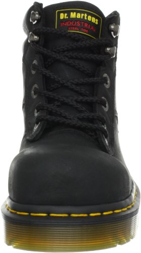 BURNHAM Greasy Industrial Boots black Dr R14126 Men's Industrial ST Martens Black Aw6qtFC