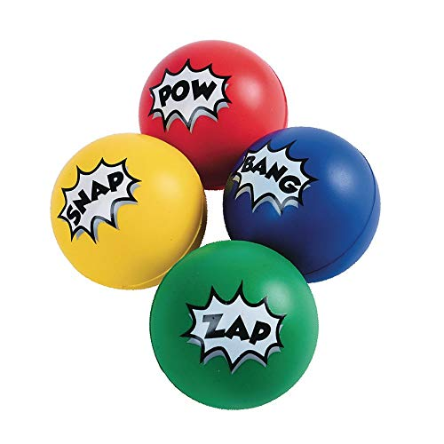 Superhero Stress Balls (12 ct) -