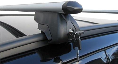 from 2007+ Green Valley Aurilis Trek Roof Rack Railings Vauxhall Zafira Hatchback 5 Door
