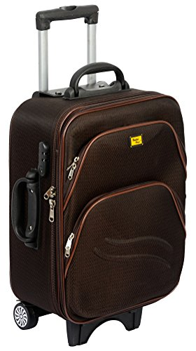 UNITED Polyester Matty 50 cms Brown Softsided Cabin Bag  UTB H 019BR20