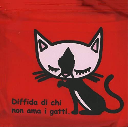 Borsa Pieghevole - Diffida Di Chi No Ama I Gatti