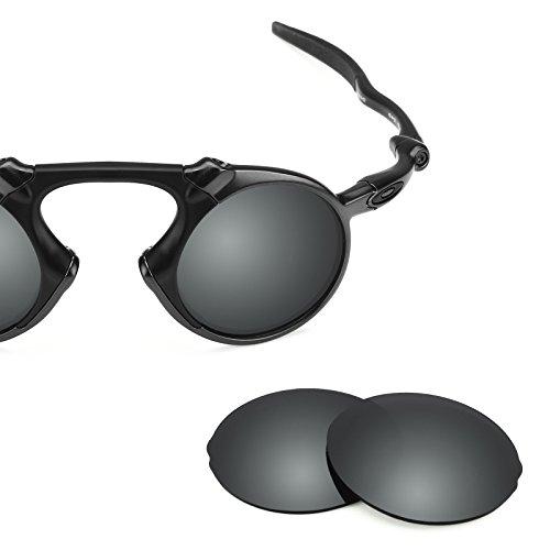Oakley Múltiples Polarizados Repuesto Madman Chrome Para Opciones Lentes Negro Mirrorshield — De q0Stt