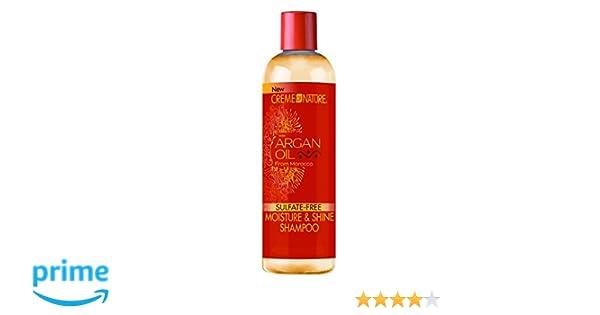 crema de aceite de argán la naturaleza Shampoo de 355 ml: Amazon.es: Belleza