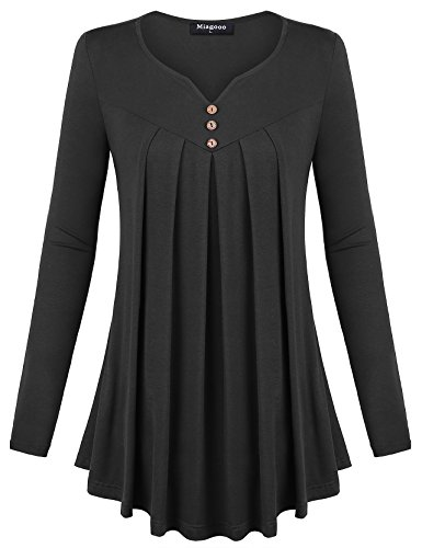 Pleated Blouse Shirt - 2