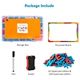 Coogam Magnetic Letters 208 Pcs with Magnetic Board