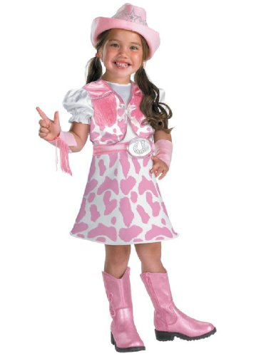 Disguise Wild West Cutie Girls Costume, 4-6X (Wild West Fancy Dress)