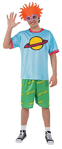 BESTPR1CE Mens Halloween Costume- Rugrats Chuckie Top Adult Costume Large ()