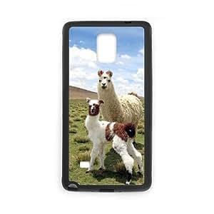 Customized Case for Samsung Galaxy Note 4 with Alpaca shsu_1965364 at SHSHU