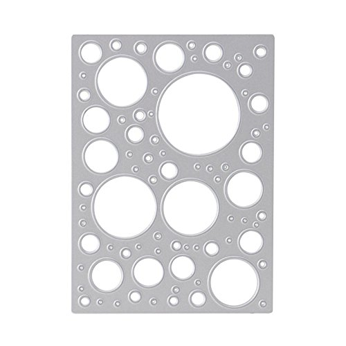 (Mimgo Store Hollow Circles Metal Cutting Dies DIY Scrapbooking Paper Card Stencil Crafts)