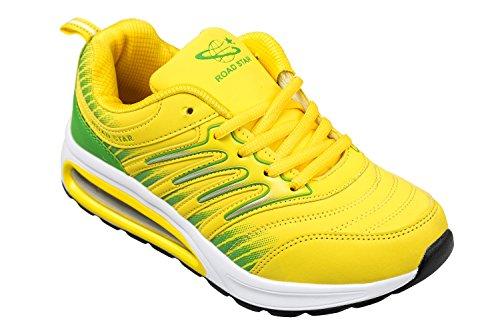 chaussures 36 confortable GIBRA vert sport de à et 41 taille très jaune léger 4rddqYvnw
