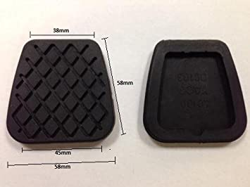 Replacment Foot Brake And Clutch Pedal Cover Pad Rubbers Land Rover Freelander: Amazon.es: Coche y moto