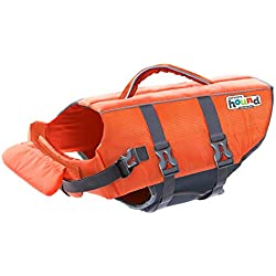 Kyjen Outward Hound PupSaver Ripstop Life Jacket Orange (Small)
