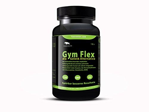 Gym Flex Flex Pro 120 Tabletten die Gelenk Alternative mit MSM, Collagen, Glucosamin