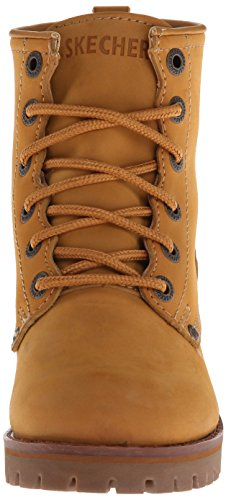 Skechers USA Womens Laramie 2 Moccasin Boots Wheat sale low price O5yIHpQHn