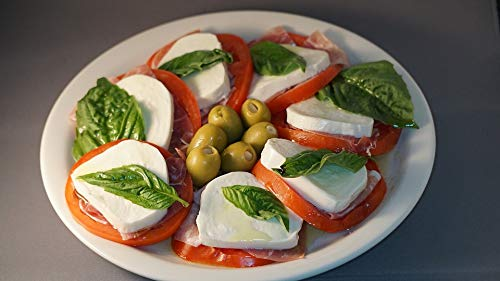 (Home Comforts Italian Tomatoes Caprese Mozzarella Fresh Salad Vivid Imagery Laminated Poster Print 11 x)