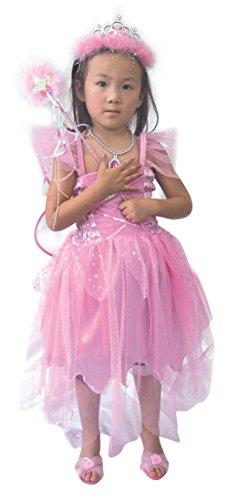 Jason Party Girls' Princess Dress Pink 4-6 years (Jason Fancy Dress)