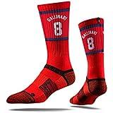 NBA Los Angeles Clippers Strideline Player Crew Socks , Danilo Gallinari , Danilo Gallinari