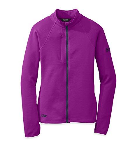 Outdoor Research Women's Radiant Hybrid Jacket, Ultraviolet/