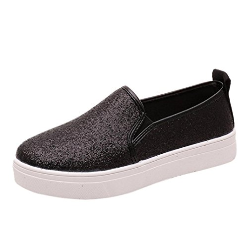 Women Summer Spring Shoes,Todaies Women Casual Flat Shoes Slip-On Sequins Loafer Shoes...