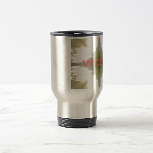 Lighted Mug - Feddiy Tumbler-Stainless Steel Travel Mug,14 oz Funny Coffee Mug-Lighted Candles Stainless Steel 14 oz